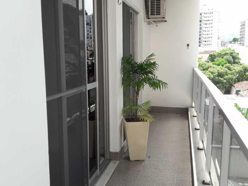 15 - Varandaquarto - Apartamento Vila Isabel,Rio de Janeiro,RJ À Venda,2 Quartos,94m² - MEAP20549 - 13
