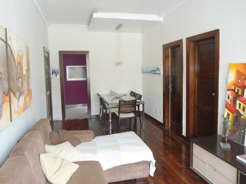 2 - sala. - Apartamento 2 quartos à venda Riachuelo, Rio de Janeiro - R$ 385.000 - MEAP20550 - 1