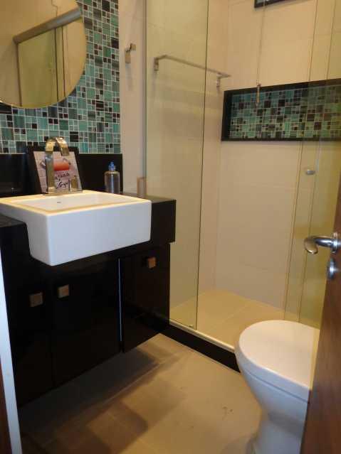 7 - Banheiro Social - Apartamento 3 quartos à venda Praça da Bandeira, Rio de Janeiro - R$ 550.000 - MEAP30210 - 20