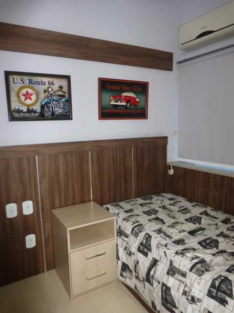 12 - Quarto 01 - Apartamento 3 quartos à venda Praça da Bandeira, Rio de Janeiro - R$ 550.000 - MEAP30210 - 8