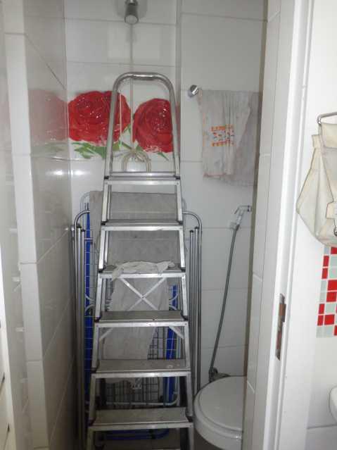 30 - Banheiro Servico - Apartamento 3 quartos à venda Praça da Bandeira, Rio de Janeiro - R$ 550.000 - MEAP30210 - 31