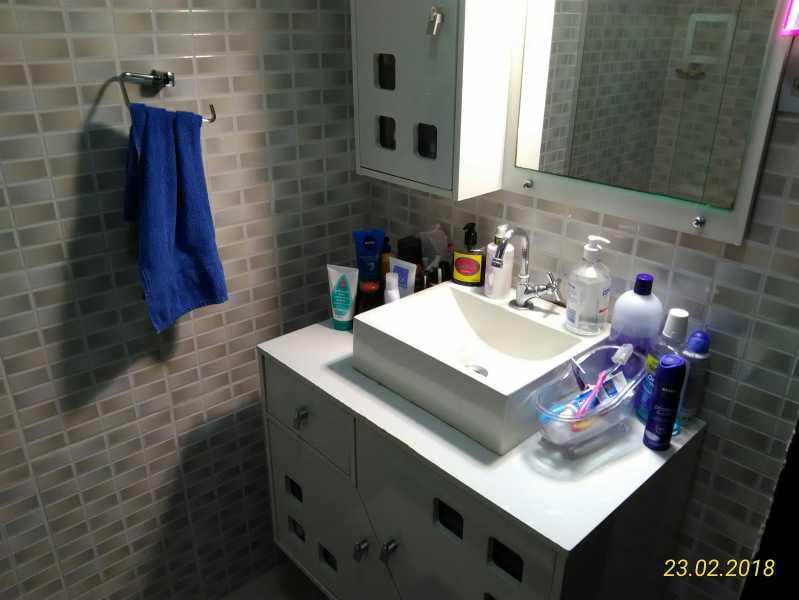 13 - banheiro social - Apartamento 2 quartos à venda Méier, Rio de Janeiro - R$ 178.000 - MEAP20591 - 14