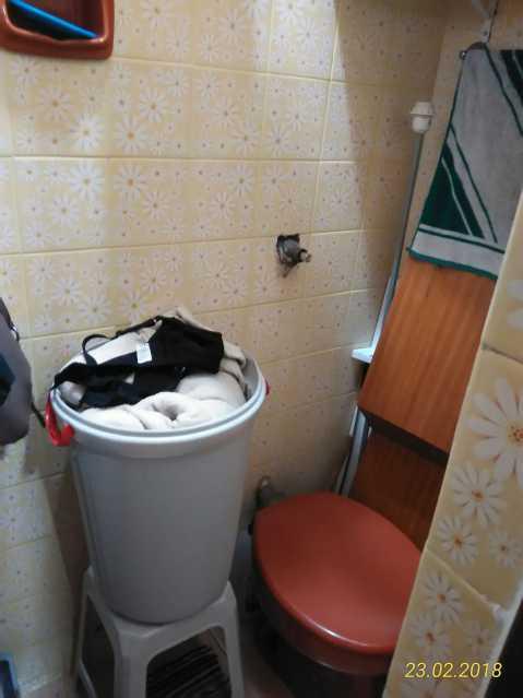 18 - banheiro de serviço - Apartamento 2 quartos à venda Méier, Rio de Janeiro - R$ 178.000 - MEAP20591 - 19
