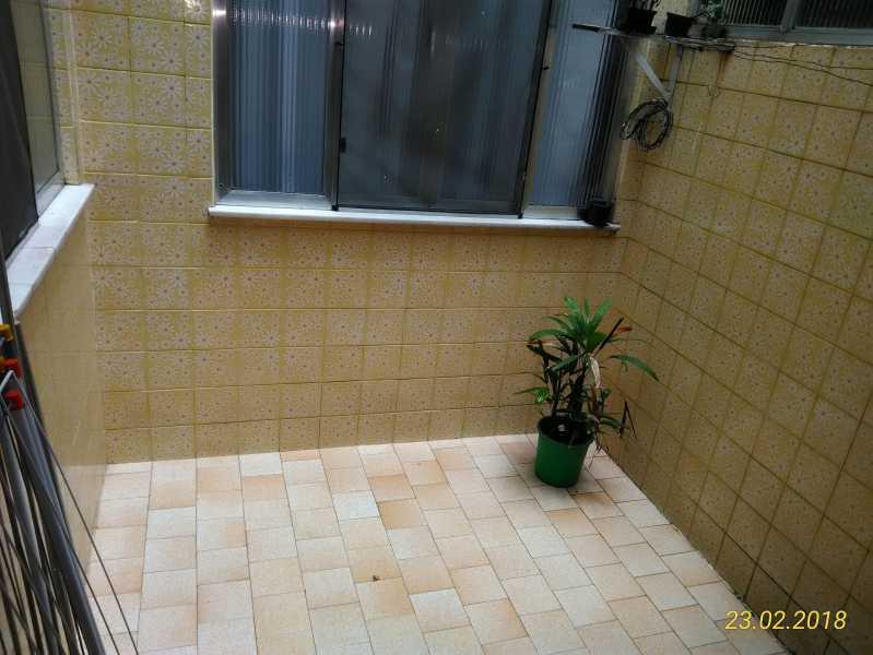 20 - área externa - Apartamento 2 quartos à venda Méier, Rio de Janeiro - R$ 178.000 - MEAP20591 - 21