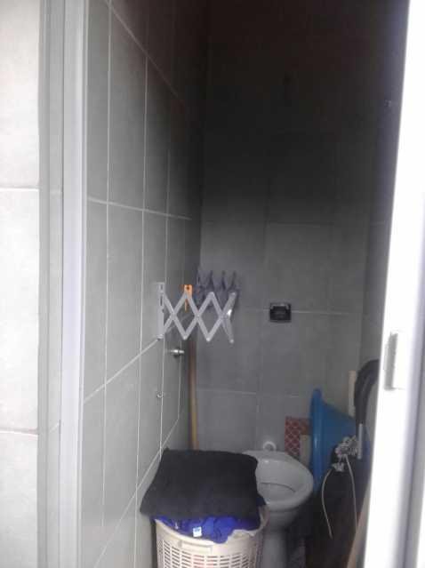 11 - BANHEIRO SERVIÇO. - Apartamento Lins de Vasconcelos,Rio de Janeiro,RJ À Venda,4 Quartos,66m² - MEAP40015 - 12