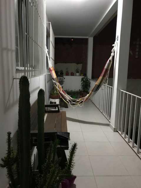 1 - VARANDÃO. - Casa Engenho de Dentro,Rio de Janeiro,RJ À Venda,3 Quartos,165m² - MECA30020 - 1
