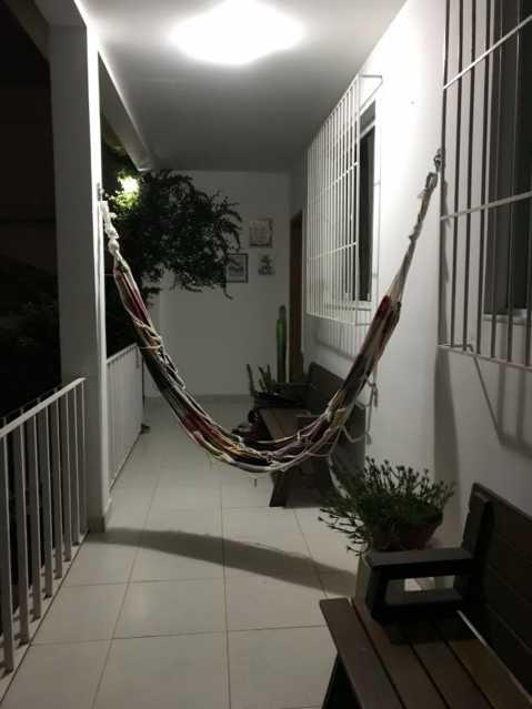 2 - varandão. - Casa Engenho de Dentro,Rio de Janeiro,RJ À Venda,3 Quartos,165m² - MECA30020 - 3