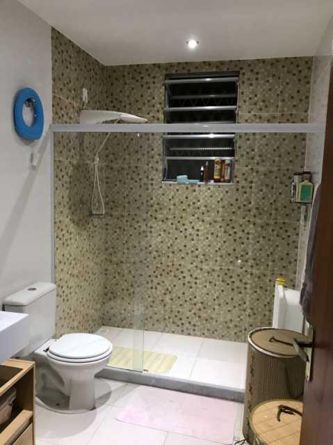 4 - BANHEIRO SOCIAL. - Casa Engenho de Dentro,Rio de Janeiro,RJ À Venda,3 Quartos,165m² - MECA30020 - 5