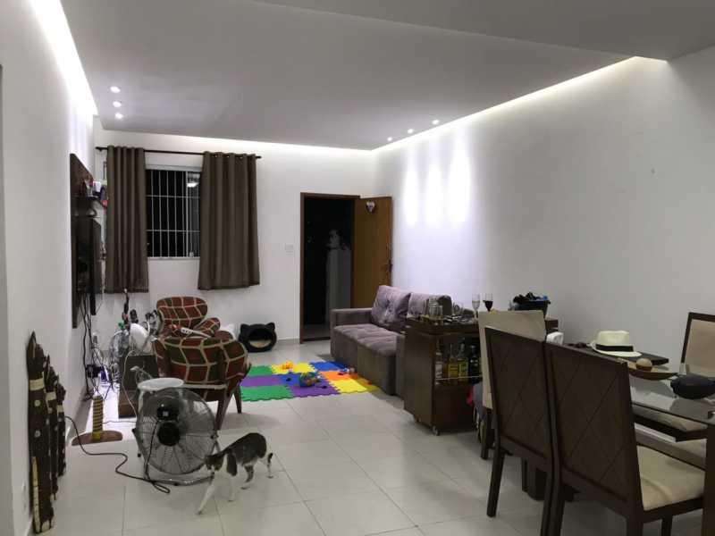 6 - SALA. - Casa Engenho de Dentro,Rio de Janeiro,RJ À Venda,3 Quartos,165m² - MECA30020 - 7