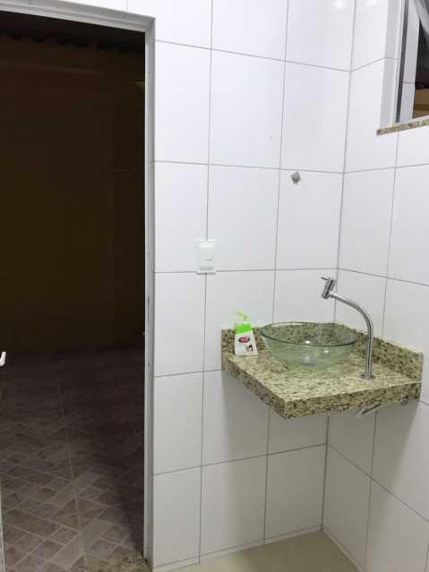 18 - BANHEIRO SERVIÇO. - Casa Engenho de Dentro,Rio de Janeiro,RJ À Venda,3 Quartos,165m² - MECA30020 - 19