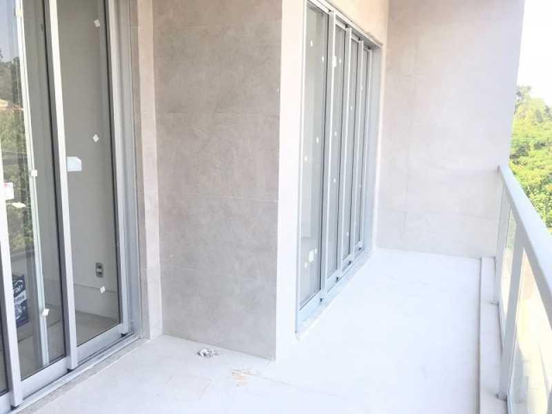 varanda 2 - Apartamento À VENDA, Freguesia (Jacarepaguá), Rio de Janeiro, RJ - FRAP20985 - 8