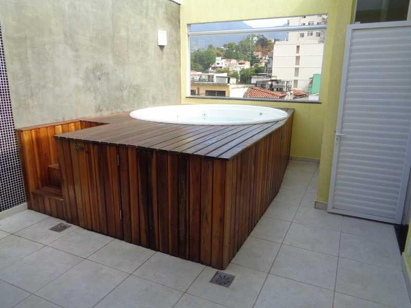 DSC00820 - Casa de Vila 3 quartos à venda Vila Isabel, Rio de Janeiro - R$ 680.000 - MECV30030 - 21