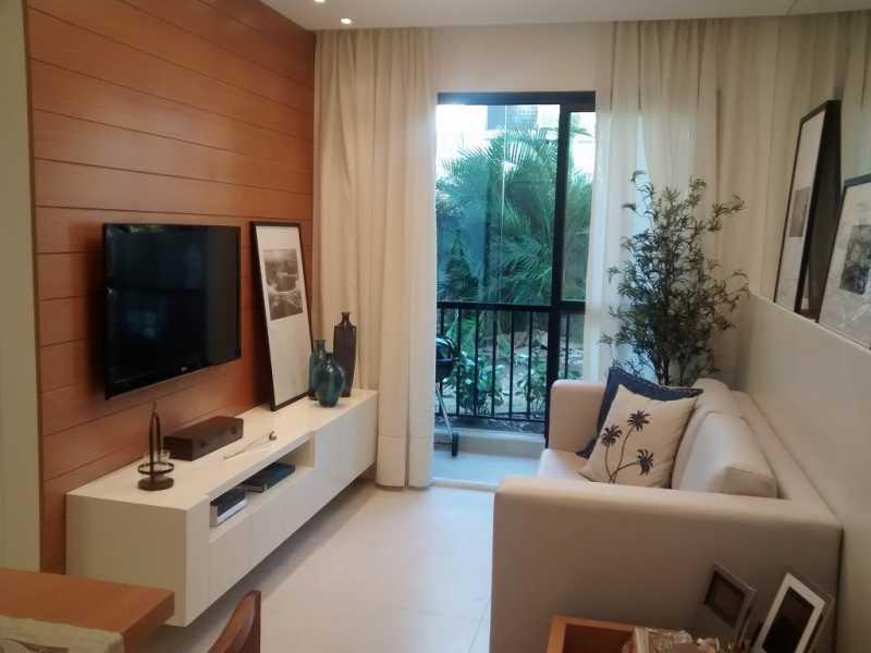 Decorado 1. - Apartamento Del Castilho,Rio de Janeiro,RJ À Venda,3 Quartos,64m² - MEAP30241 - 3