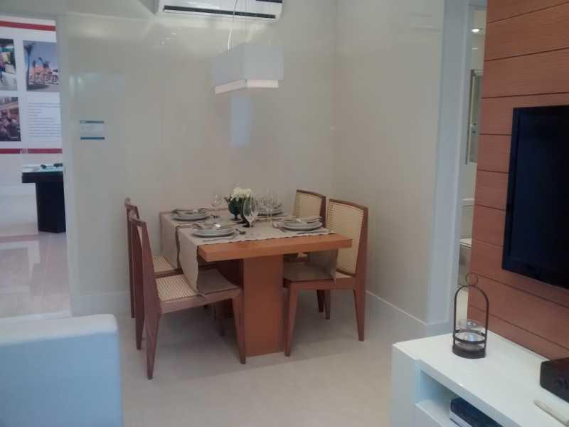 Decorado 2. - Apartamento Del Castilho,Rio de Janeiro,RJ À Venda,3 Quartos,64m² - MEAP30241 - 1