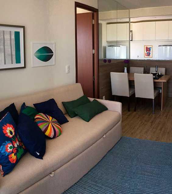 Decorado - Apartamento 2 quartos à venda Curicica, Rio de Janeiro - R$ 374.000 - FRAP21073 - 3
