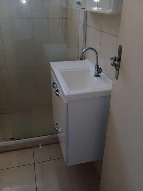 8 - BANHEIRO SOCIAL - Apartamento 1 quarto à venda Higienópolis, Rio de Janeiro - R$ 145.000 - MEAP10100 - 9