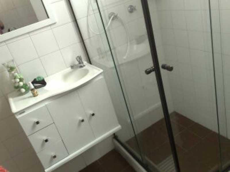 13 - BANHEIRO SOCIAL. - Apartamento À VENDA, Engenho de Dentro, Rio de Janeiro, RJ - MEAP10101 - 14