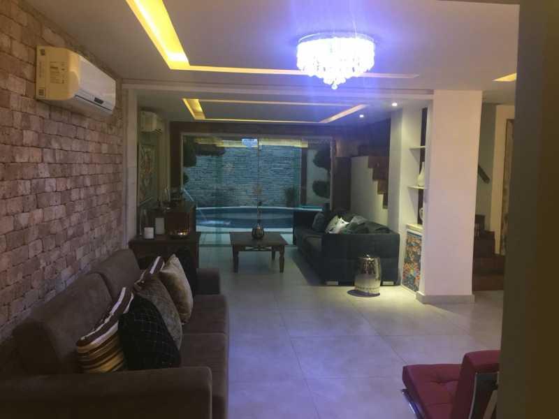 1 - Casa em Condomínio 3 quartos à venda Anil, Rio de Janeiro - R$ 1.900.000 - FRCN30112 - 1