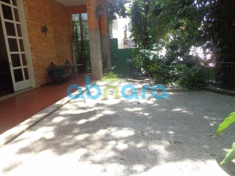 1 - Casa para alugar Rua Maria Angélica,Jardim Botânico, Rio de Janeiro - R$ 17.500 - CPCA40005 - 1