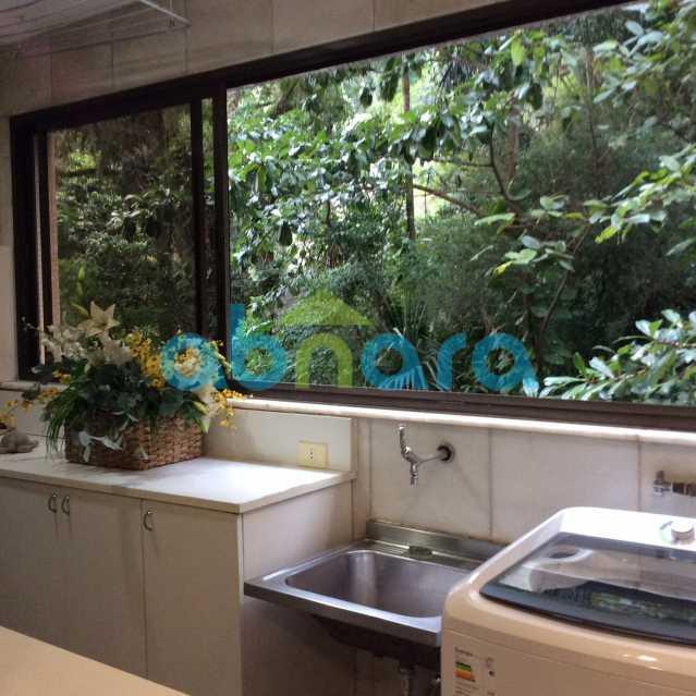 área 2 - Apartamento para alugar Avenida Epitácio Pessoa,Lagoa, Rio de Janeiro - R$ 25.000 - CPAP30422 - 5