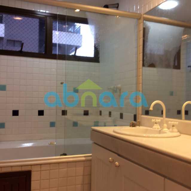 banheira suite 2 - Apartamento para alugar Avenida Epitácio Pessoa,Lagoa, Rio de Janeiro - R$ 25.000 - CPAP30422 - 7