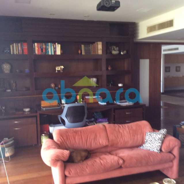 escrit estante - Apartamento para alugar Avenida Epitácio Pessoa,Lagoa, Rio de Janeiro - R$ 25.000 - CPAP30422 - 15