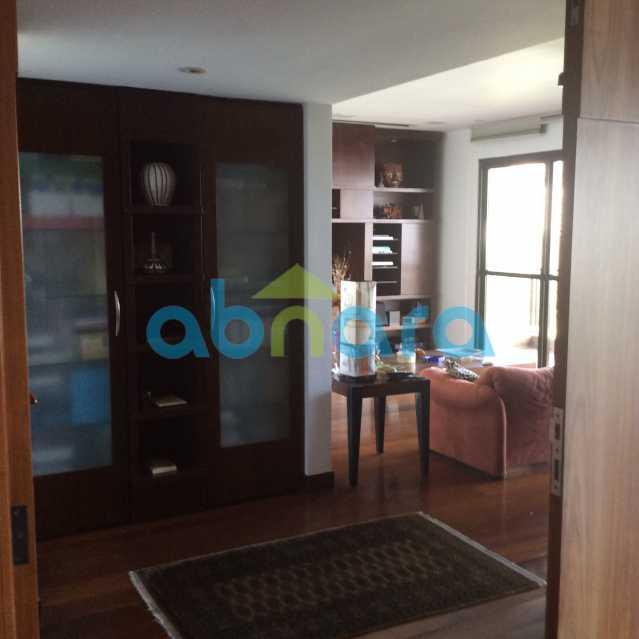 hall do escritório - Apartamento para alugar Avenida Epitácio Pessoa,Lagoa, Rio de Janeiro - R$ 25.000 - CPAP30422 - 17
