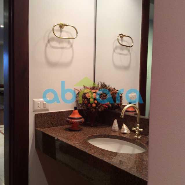 lavabo 2 - Apartamento para alugar Avenida Epitácio Pessoa,Lagoa, Rio de Janeiro - R$ 25.000 - CPAP30422 - 21
