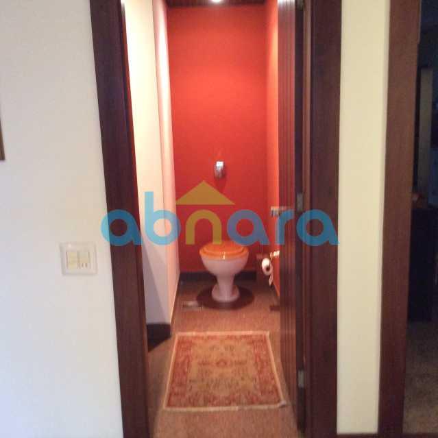 lavabo 3 - Apartamento para alugar Avenida Epitácio Pessoa,Lagoa, Rio de Janeiro - R$ 25.000 - CPAP30422 - 22