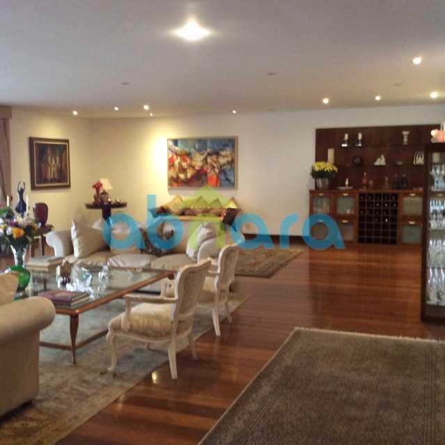 sala bar - Apartamento para alugar Avenida Epitácio Pessoa,Lagoa, Rio de Janeiro - R$ 25.000 - CPAP30422 - 1