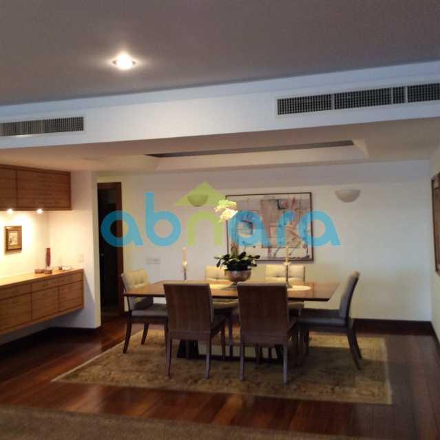 sala de jantar 2 - Apartamento para alugar Avenida Epitácio Pessoa,Lagoa, Rio de Janeiro - R$ 25.000 - CPAP30422 - 4