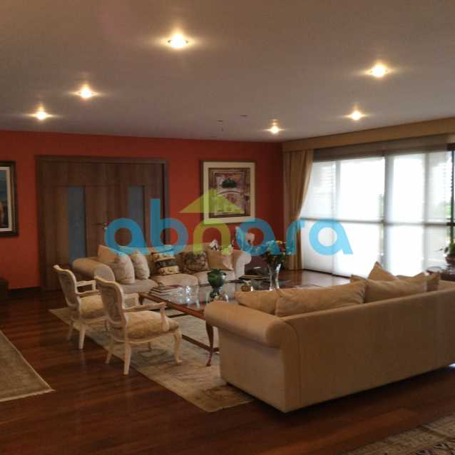sala esq - Apartamento para alugar Avenida Epitácio Pessoa,Lagoa, Rio de Janeiro - R$ 25.000 - CPAP30422 - 26