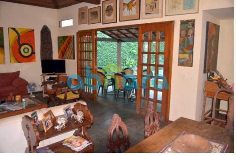 SALÃO  VARANDA - Casa em Condomínio 4 quartos à venda Cosme Velho, Rio de Janeiro - R$ 1.500.000 - CPCN40005 - 3