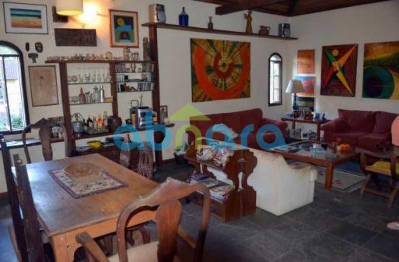SALÃO 1 - Casa em Condomínio 4 quartos à venda Cosme Velho, Rio de Janeiro - R$ 1.500.000 - CPCN40005 - 4