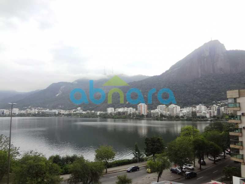 1 - Apartamento Lagoa, Rio de Janeiro, RJ À Venda, 3 Quartos, 129m² - CPAP30599 - 1