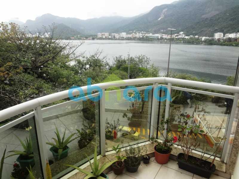 14 - Apartamento Lagoa, Rio de Janeiro, RJ À Venda, 3 Quartos, 129m² - CPAP30599 - 15