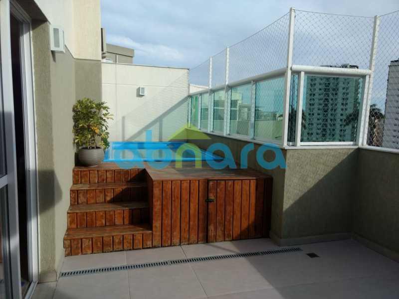 1. - Cobertura À Venda - Pechincha - Rio de Janeiro - RJ - CPCO30052 - 1