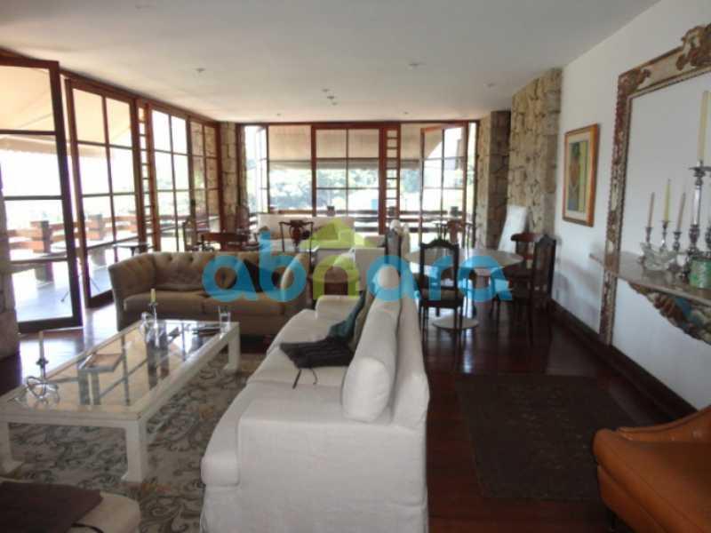 01 - Casa 5 quartos à venda Humaitá, Rio de Janeiro - R$ 7.800.000 - CPCA50004 - 1