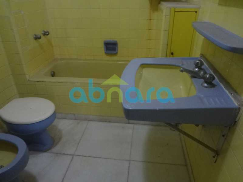 BANHEIRO 1 - Apartamento Copacabana, Rio de Janeiro, RJ Para Alugar, 4 Quartos, 350m² - CPAP40277 - 8