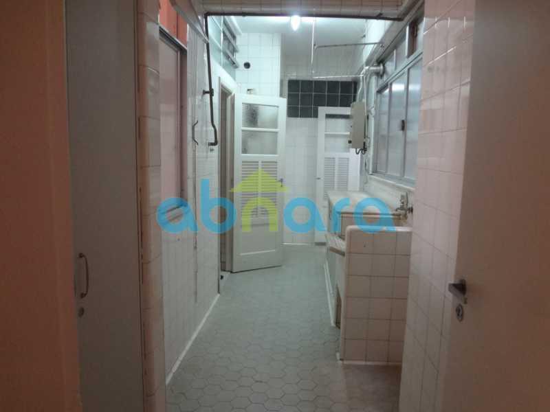 ÁREA DE SERVIÇO - Apartamento Copacabana, Rio de Janeiro, RJ Para Alugar, 4 Quartos, 350m² - CPAP40277 - 21