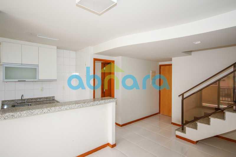 Cozinha americana - Cobertura Duplex. 2 Quartos com 1 Suite e 2 Vagas!! - CPCO20032 - 6