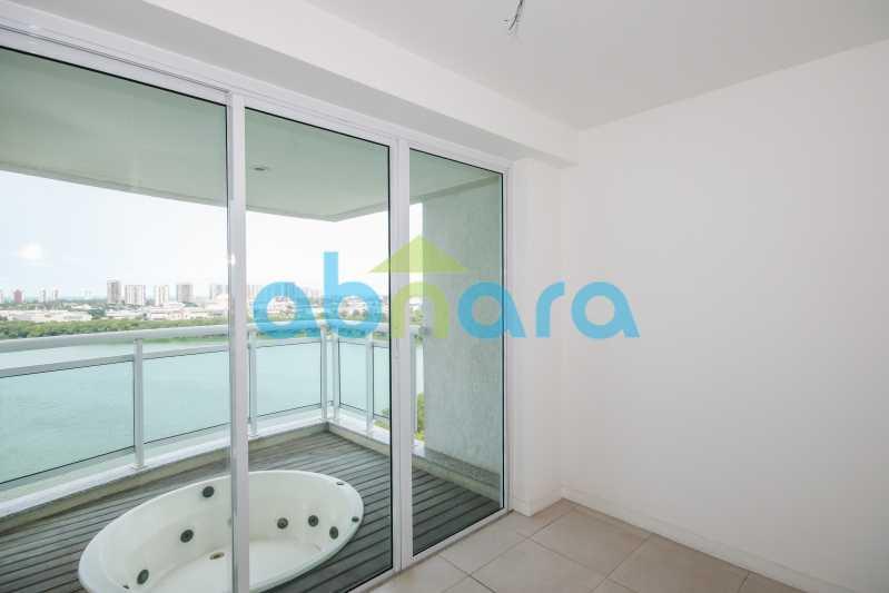 Ofurô com vista Lagoa - 4 Suites na Peninsula 4 Vagas - 273 m2 - CPAP40287 - 24