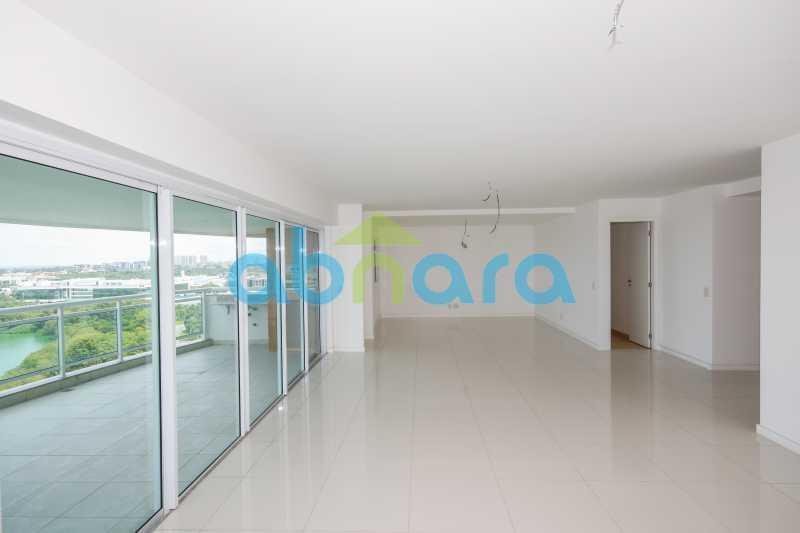 Sala ampla - 4 Suites na Peninsula 4 Vagas - 273 m2 - CPAP40287 - 9