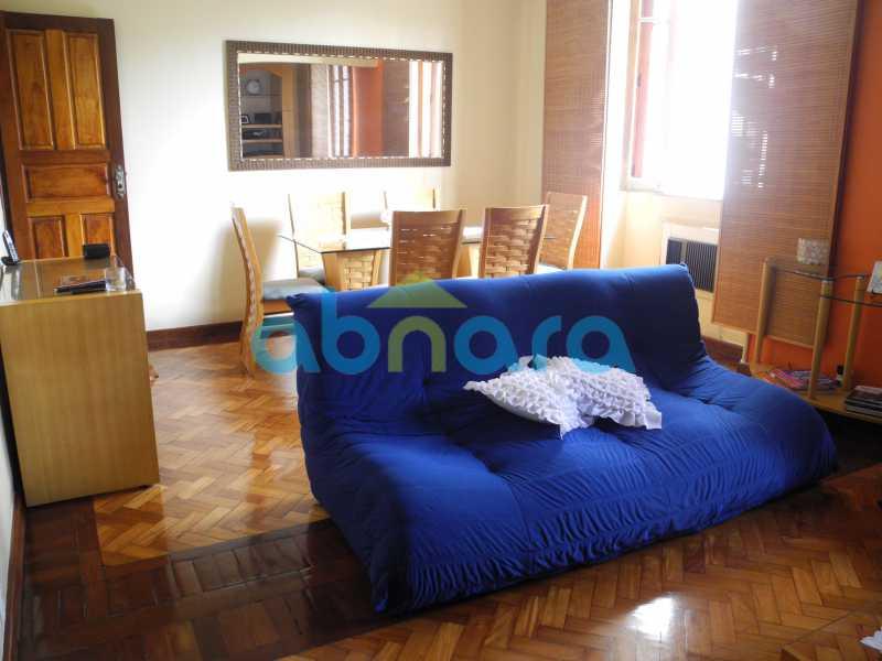 2 - Dois quartos amplos com sala em dois ambientes em rua tradicional do Flamengo. - CPAP20465 - 3