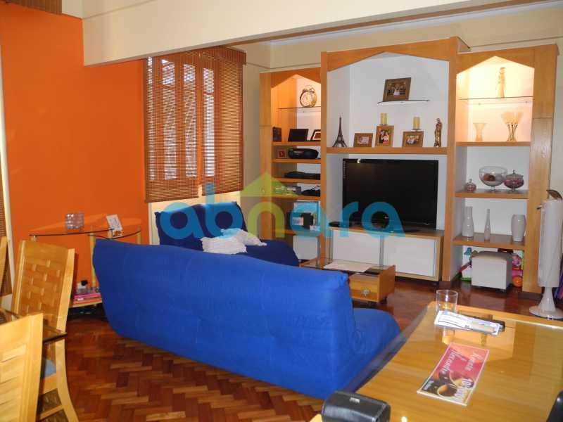 3 - Dois quartos amplos com sala em dois ambientes em rua tradicional do Flamengo. - CPAP20465 - 1