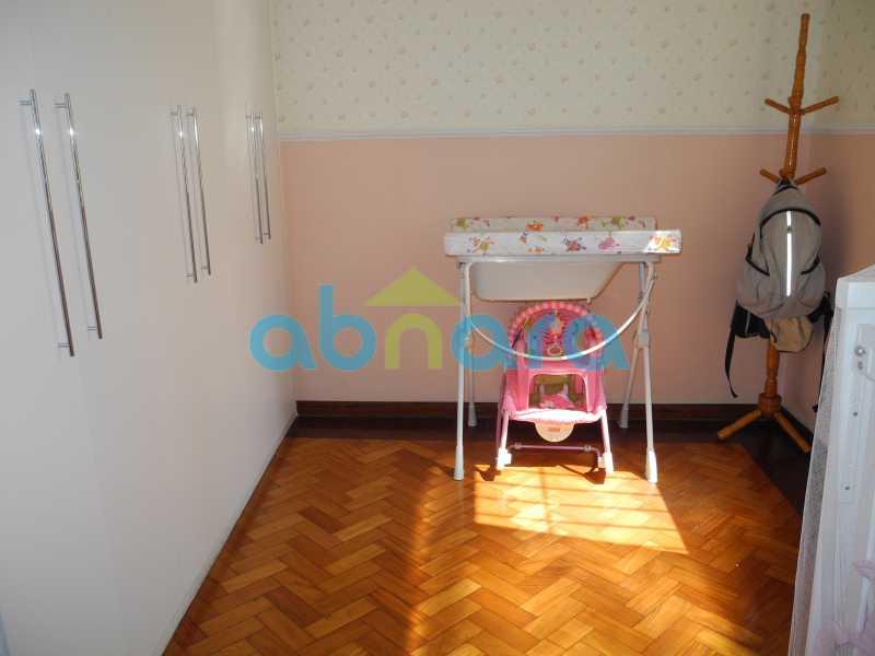8 - Dois quartos amplos com sala em dois ambientes em rua tradicional do Flamengo. - CPAP20465 - 10