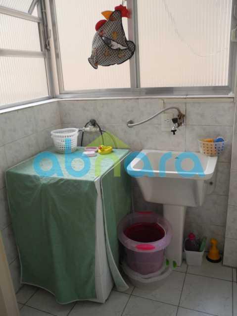 11 - Dois quartos amplos com sala em dois ambientes em rua tradicional do Flamengo. - CPAP20465 - 14