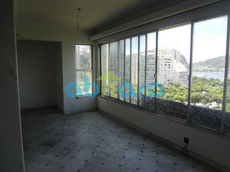 2 - Excelente 4 quartos, com dependências e vaga de garagem. Vista cinematográfica para a enseada de Botafogo. - CPAP40295 - 1