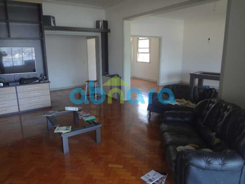5 - Excelente 4 quartos, com dependências e vaga de garagem. Vista cinematográfica para a enseada de Botafogo. - CPAP40295 - 3