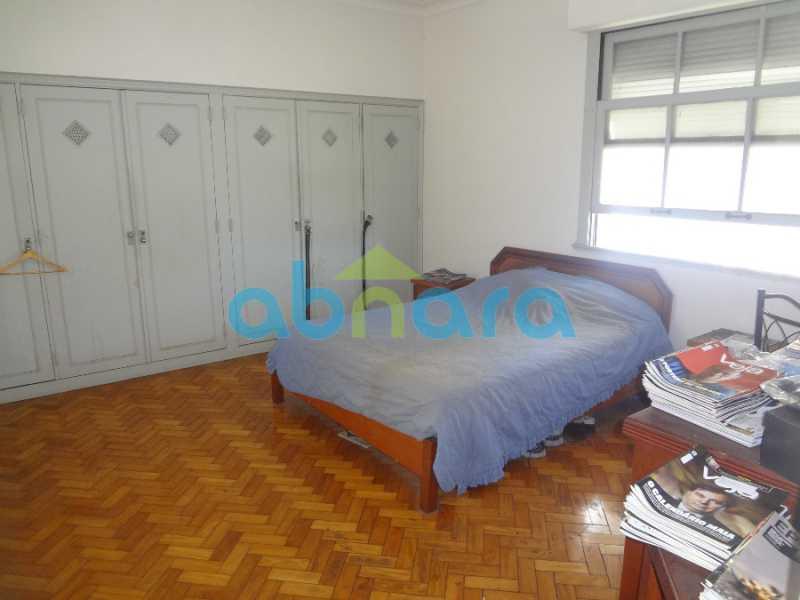 15 - Excelente 4 quartos, com dependências e vaga de garagem. Vista cinematográfica para a enseada de Botafogo. - CPAP40295 - 11